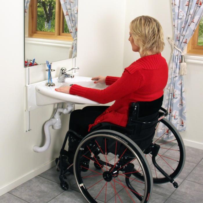 Height Adjustable Washbasins